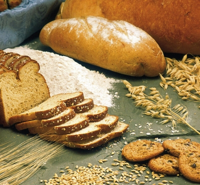 Brood en granen. Foto: ARS-USDA. Bron: Wikimedia. Public Domain.