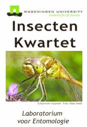 insectenkwartet, uitgegeven door het Laboratorium voor Entomologie, Wageningen Universiteit